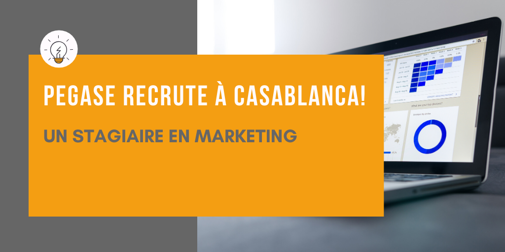 PEGASE RECRUTE  à Casablanca : un(e) chargé(e) de marketing